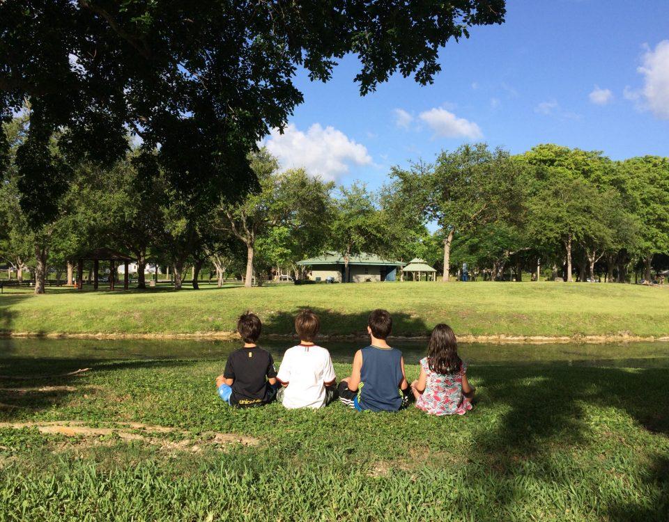meditação com crianças