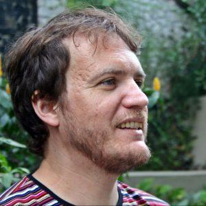Daniel Gisé, 2018. Foto Audrey Ruggiero